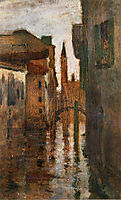 The Campanile, Late Afternoon, twachtman