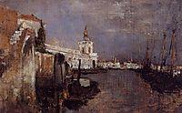 Canal, Venice, c.1878, twachtman