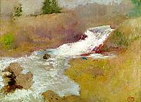 The Cascade in Spring, c.1899, twachtman