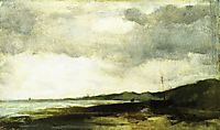Coastal View, 1882, twachtman