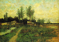 Country Path, twachtman