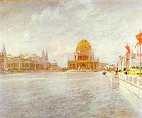 Court of Honor, World-s Columbian Exposiition, 1893, twachtman