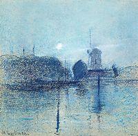 Dutch Landscape, 1885, twachtman