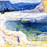 Emerald Pool, 1895, twachtman