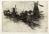 Evening, c.1881, twachtman