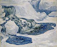 Falls in January, 1895, twachtman