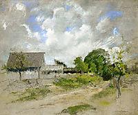 Farm Scene, 1891, twachtman