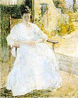 Figure in a Landscape, c.1896, twachtman