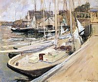 Fishing Boats at Gloucester, twachtman