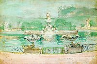 Fountain, World-s Fair, c.1894, twachtman