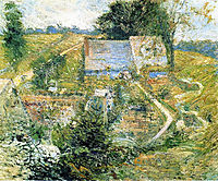 From the Upper Terrace, 1897, twachtman