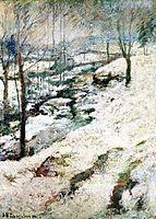 Frozen Brook, c.1893, twachtman