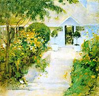 A Garden Path, 1899, twachtman
