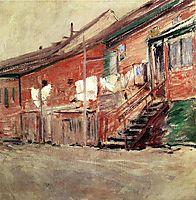 Gloucester, Fishermen-s Houses, c.1901, twachtman