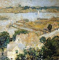 Gloucester Harbor 2, c.1900, twachtman
