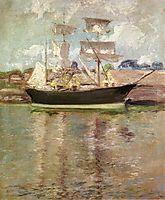 Gloucester Schooner, c.1900, twachtman