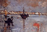 The Grand Canal, Venice, 1878, twachtman