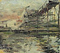 Harbor Scene, c.1902, twachtman
