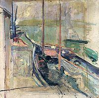 Harbor Scene, c.1900, twachtman