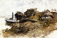 Harbor View, 1879, twachtman