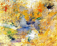 Hemlock Pool (aka Autumn), c.1894, twachtman