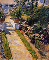 In the Garden, c.1900, twachtman