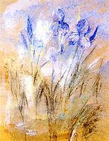 Irises, c.1896, twachtman