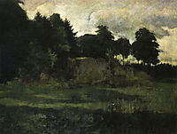 Landscape, 1882, twachtman