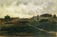 Landscape, 1880, twachtman