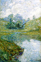 Landscape, 1902, twachtman