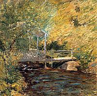 The Little Bridge, 1896, twachtman