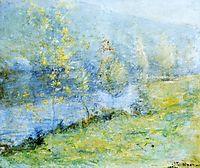 May Morn, c.1899, twachtman