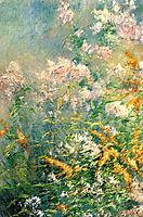 Meadow Flowers (Golden Rod and Wild Aster), c.1892, twachtman