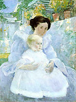 Mother and Child, c.1897, twachtman