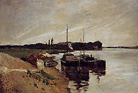 Mouth of the Seine, 1884, twachtman