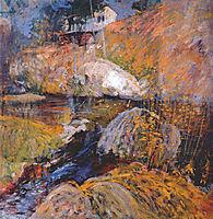 My Summer Studio, c.1900, twachtman