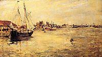New York Harbor, 1879, twachtman