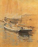 Newport Harbor, c.1889, twachtman