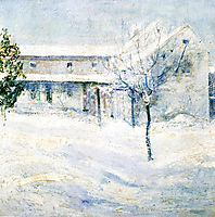 Old Holley House, 1900, twachtman