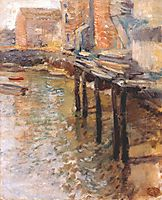 The Old Mill at Cos Cobb, c.1902, twachtman
