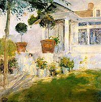 The Portico, c.1899, twachtman