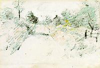 Road Scene, 1899, twachtman