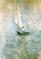 Sailing in the Mist, c.1895, twachtman