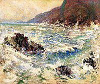 Sea Scene, 1893, twachtman