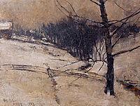 Snow Scene, 1882, twachtman