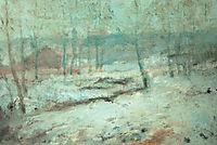 Snow Scene, c.1890, twachtman
