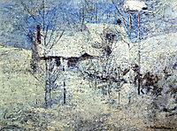 Snowbound, 1900, twachtman
