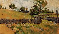 Spring Landscape, 1891, twachtman