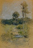 Spring Landscape (also known as Spring in Marin County), c.1893, twachtman