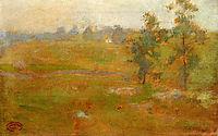 Summer Landscape, 1899, twachtman